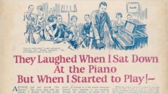 Họ cười nhạo khi tôi ngồi bên cây đàn piano - John Caples - Nghệ Thuật Viết Quảng Cáo