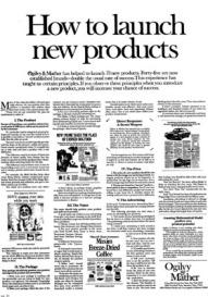 Nghệ thuật tiếp thị sản phẩm mới vào thị trường - David Ogilvy - ThS. Phan Nguyễn Khánh Đan