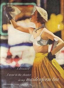 Quảng cáo nội y Maidenform năm 1950 - blog Nghệ Thuật Viết Quảng Cáo