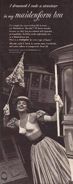 Quảng cáo nội y Maidenform năm 1952 trên tạp chí Life - blog Nghệ Thuật Viết Quảng Cáo