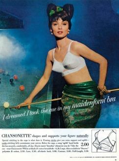 Quảng cáo nội y Maidenform năm 1963 - blog Nghệ Thuật Viết Quảng Cáo