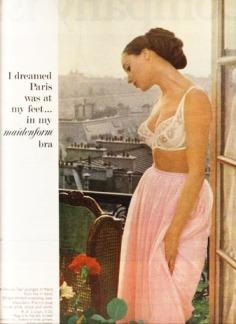 Quảng cáo nội y Maidenform trên tạp chí Life năm 1965 - blog Nghệ Thuật Viết Quảng Cáo