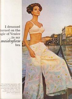 Quảng cáo nội y Maidenform trên tạp chí Life vào năm 1965 - blog Nghệ Thuật Viết Quảng Cáo